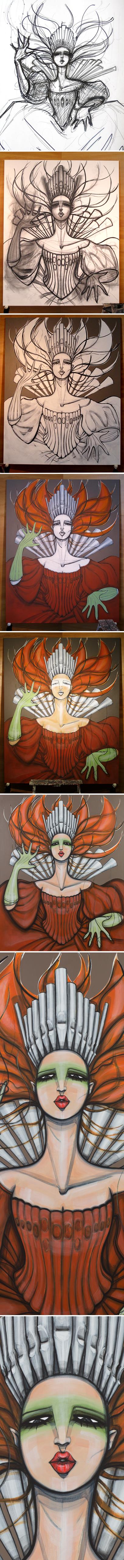 Organ-Queen-evolution