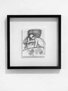 Original drawing, framed. 32,4 x 32,4 cm. Ink on papper. 2013. Available in the shop.