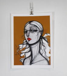 Fine Art Giclée print. 45 cm x 60 cm. Signed and numbered edition. 2012.