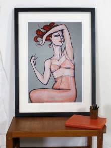 Fine Art Giclée Print. 50 cm x 70 cm. Signed and numbered edition. 2012. Available in the shop.