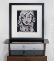 Fine Art Giclée print, framed. 56 cm x 53 cm. Signed and numbered edition. 2012. Available in the Shop.