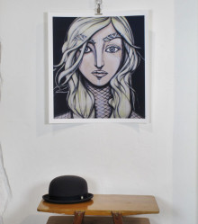 Fine Art Giclée print. 55 cm x 60 cm. Signed and numbered edition. 2012. Available in the shop.