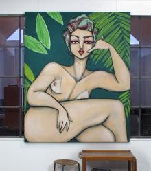 Original Painting. 135 cmx 170 cm. Acrylic on canvas. 2013.