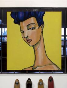 Original Painting. 135 cm x 140 cm. Acrylic on canvas. 2013.