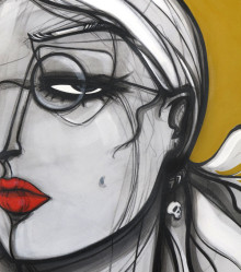 Original Painting. 96 cm x 143 cm. Acrylic on canvas. 2012.