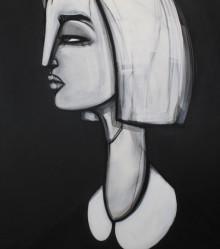 Original Painting, close up. 130 cm x 140 cm. Acrylic on canvas. 2013.