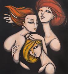 Original Painting. 145 cm x 160 cm. Acrylic on canvas. 2013.