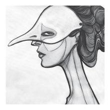The ODD BIRD Serie. Acrylics on canvas. 99x100cm. 2015