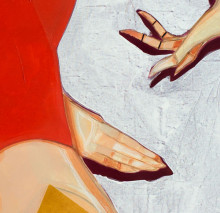A Body is a Tool serie. 140 x 135 cm. Acrylics on canvas. 2016.
