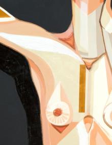 A Body is a Tool serie. 135 x 175 cm. Acrylics on canvas. 2016