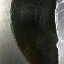Acrylics, pencil and molding paste on masonite. Shiny and matt coated. 50x50cm.